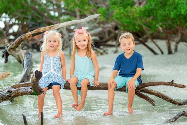 children photo on Sanibel Island