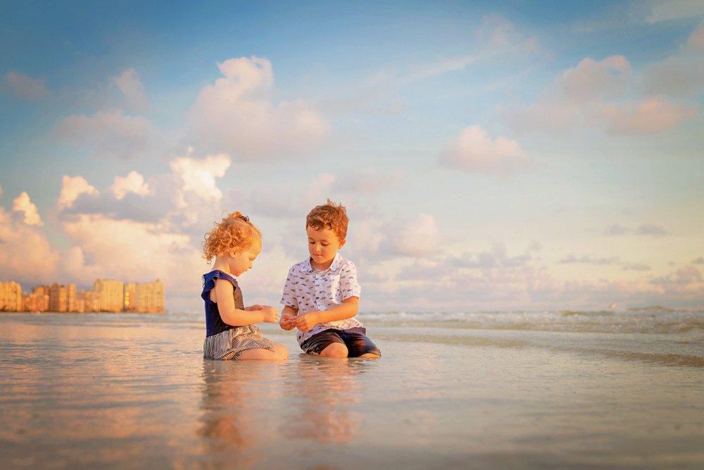 family photo on Marco Island