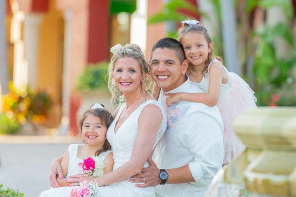 wedding vow renewal on Marco Island
