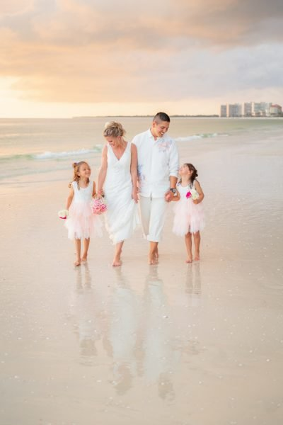 vow renewal ceremony on Marco Island