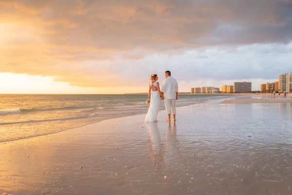 vow renewal picture on Marco Island