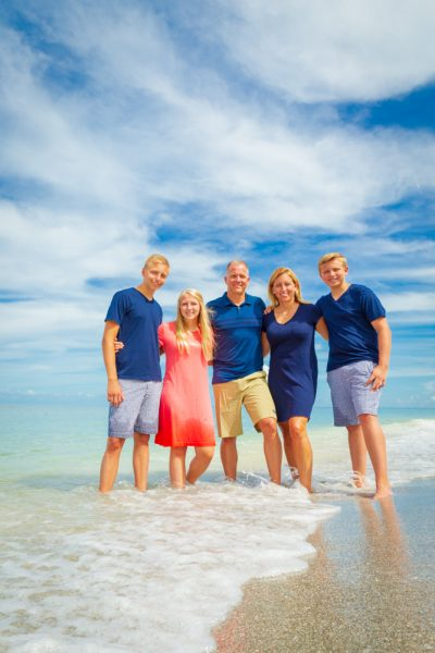 Sanibel and Captiva photography of family