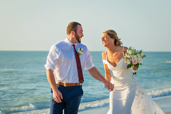 Captiva island wedding photo
