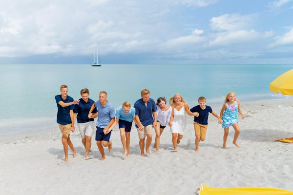 Captiva family photo session
