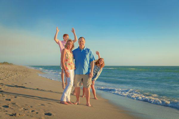 fun family vacation photography