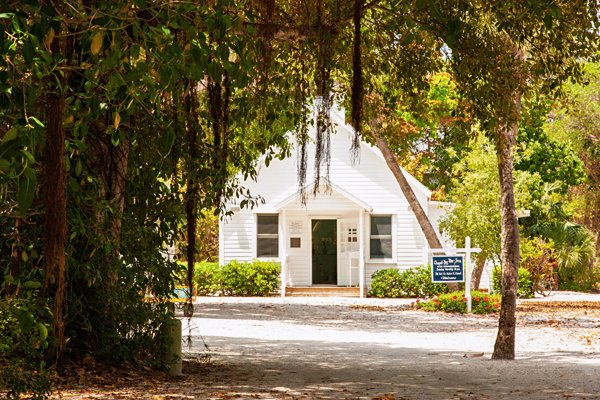 Chapel by the Sea on Captiva Island