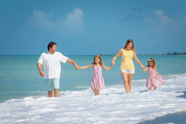 family at Captiva Island photo sesson