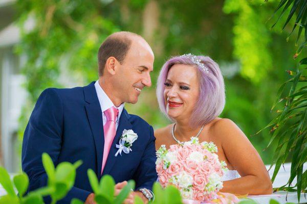 intimate wedding at Casa Ybel Resort