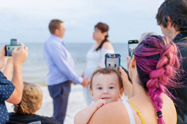 Family at Fort Myers elopement